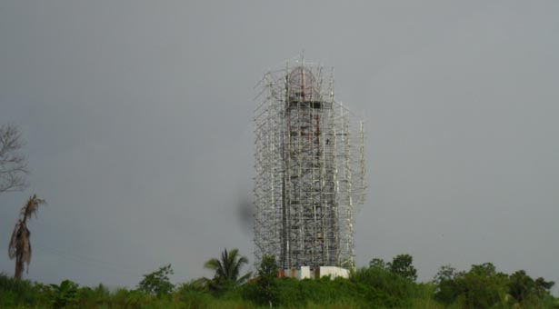 Construction of Center for Prayer and Meditation
